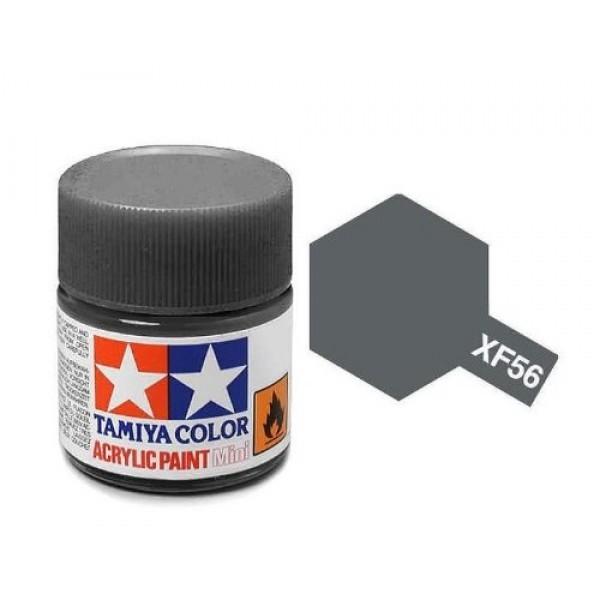 Tamiya Acrylic: Metallic Gray (XF56)