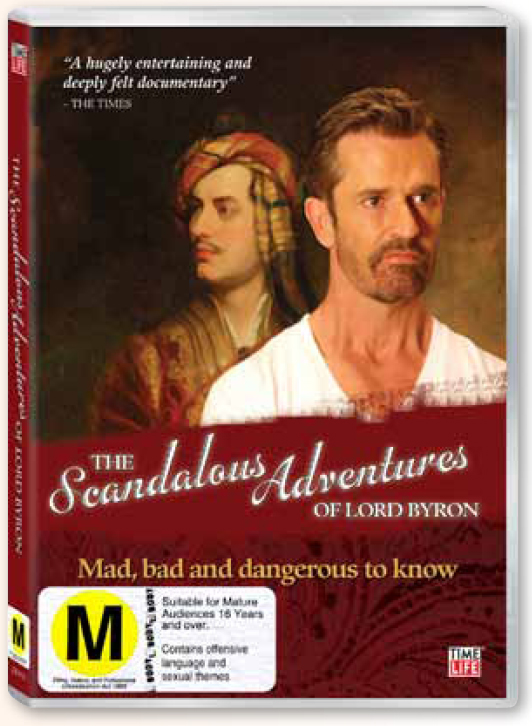 The Scandalous Adventures of Lord Byron DVD image