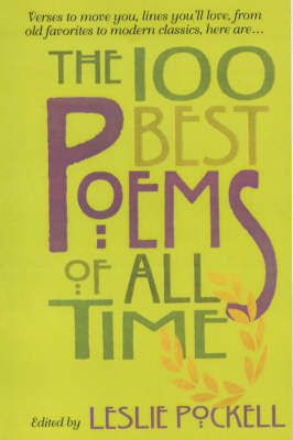 100 Best Poems of All Time by Leslie Pockell image