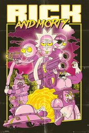 Rick And Morty: Action Movie - Maxi Poster (656)