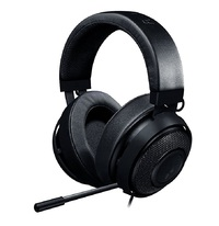 Razer Kraken 7.1 V2 Oval Gaming Headset - Black for PC Games