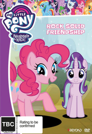 My Little Pony: Friendship Is Magic - Rock Solid Friendship on DVD