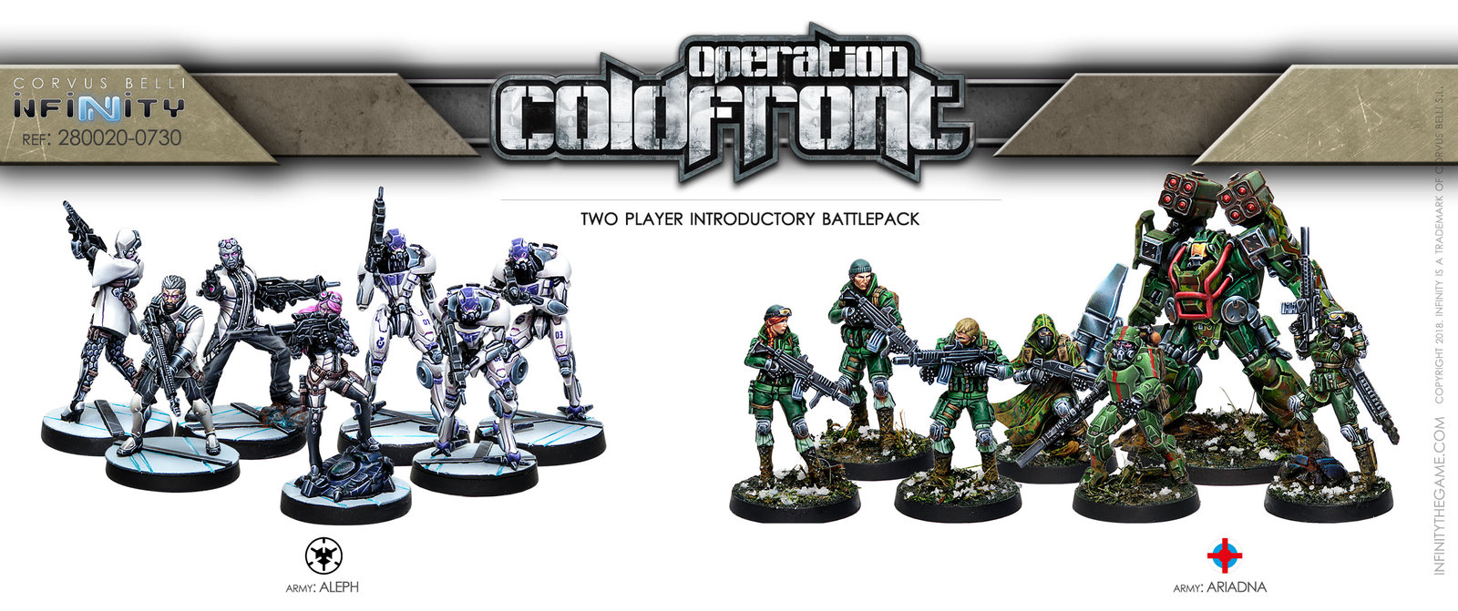 Infinity Operation: Coldfront Two Player Introductory Battle Pack image