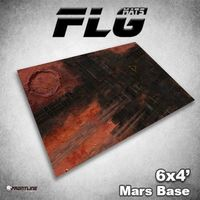 FLG Mars Base Neoprene Gaming Mat (6x4)