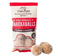 Tom & Luke Snackaballs - Strawberry & Macadamia (70g)