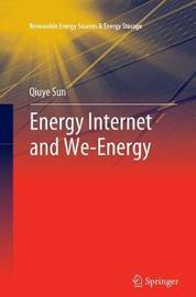 Energy Internet and We-Energy by Qiuye Sun image