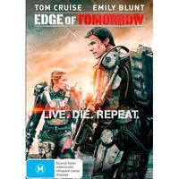Edge of Tomorrow on DVD image