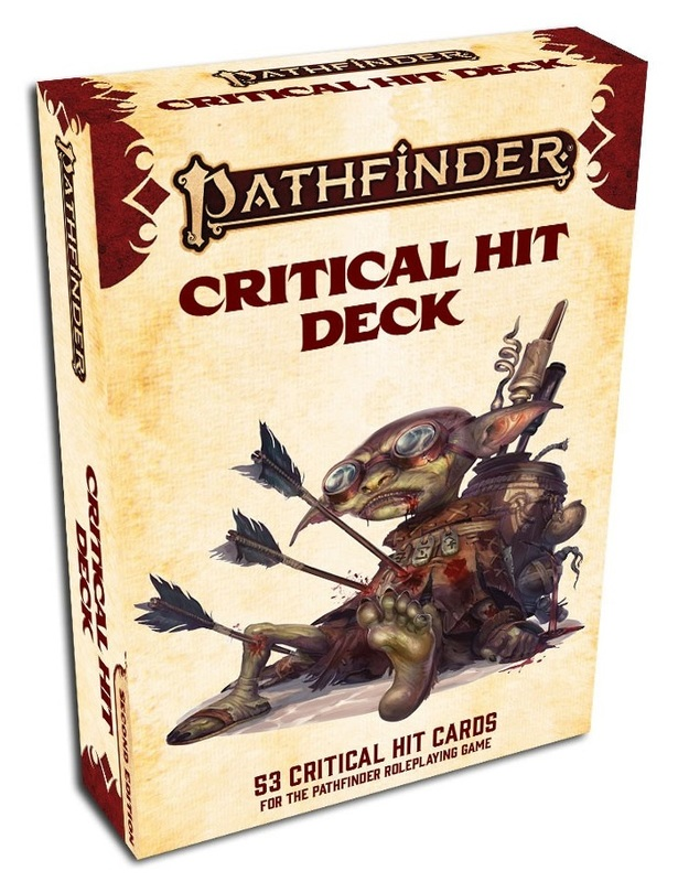 Pathfinder: RPG - Critical Hit Deck (2nd Edition)