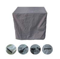 Outdoor Heavy Duty 5 Piece Square Table Setting Furniture Cover -150(L) x 150(W) x 80cm(H)