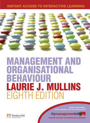 Management and Organisational Behaviour by Laurie J. Mullins image