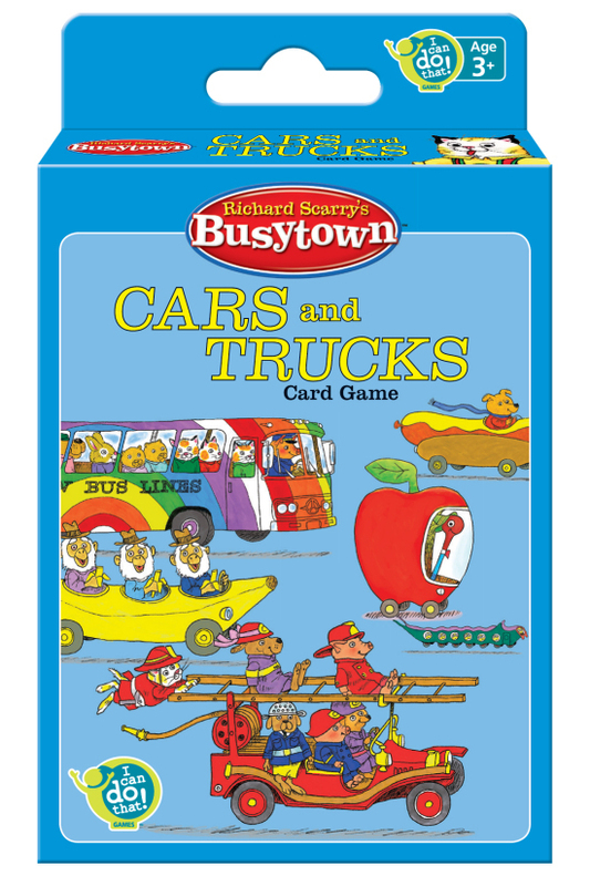 Richard Scarry's Busytown - Cars & Trucks Card Game