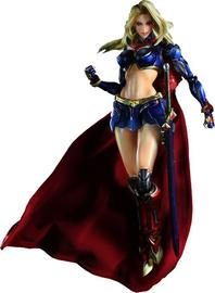 Superman Play Arts Kai Supergirl Variant Action Figure
