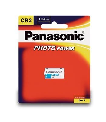 Panasonic Lithium 3V Camera Battery - CR2
