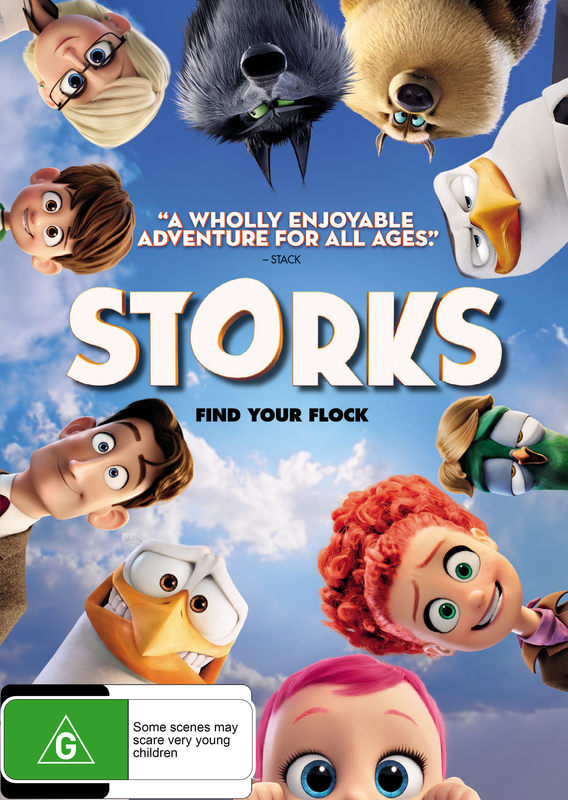 storks dvd  stock buy   mighty ape australia