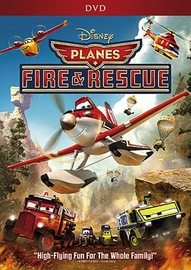 Planes 2: Fire and Rescue DVD