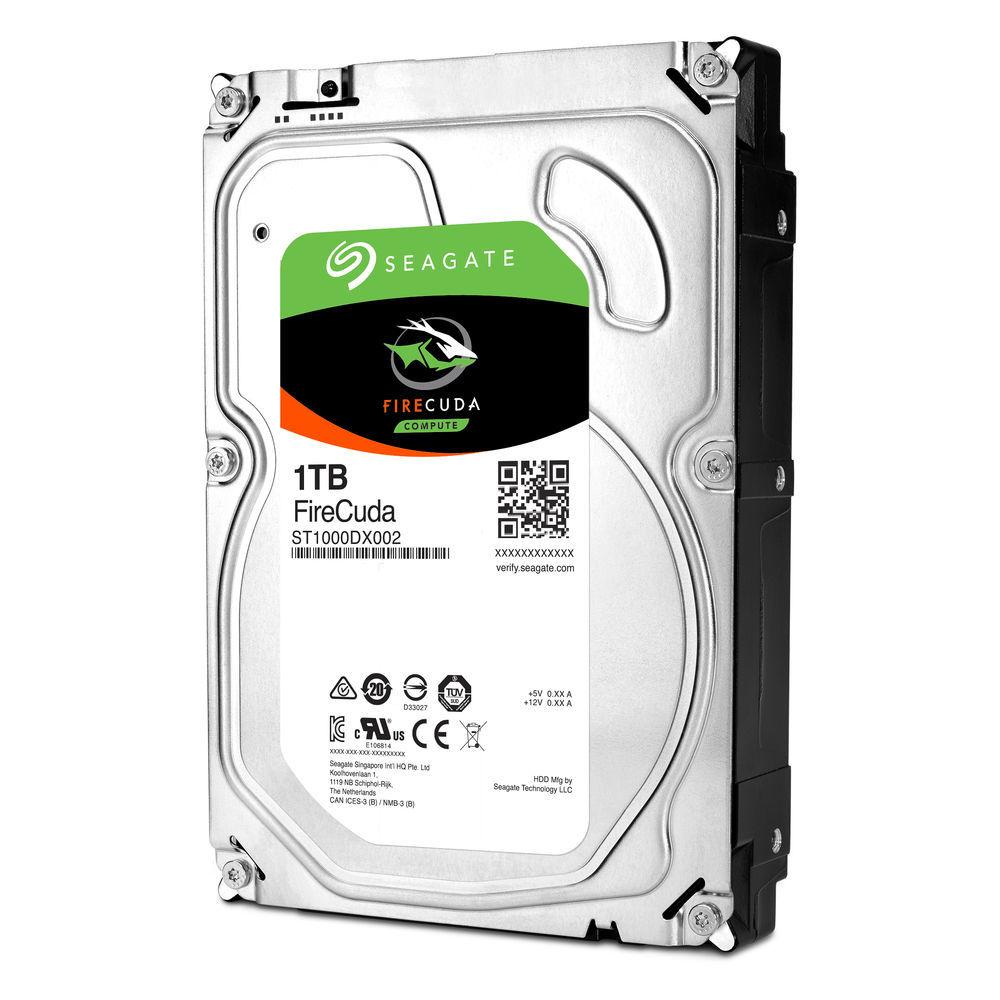 "1TB Seagate FireCuda SATA 6Gb/s 3.5"" Hybrid Gaming Hard Drive image"