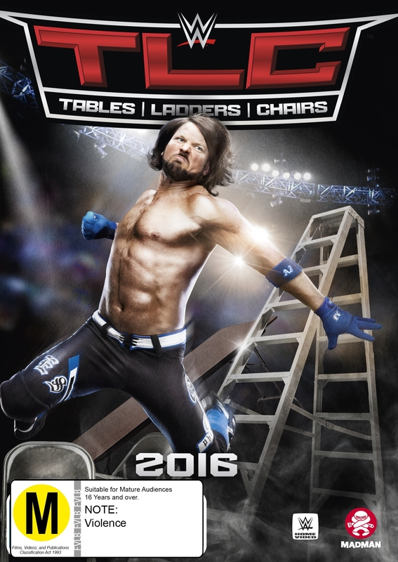 WWE: TLC Tables, Ladders & Chairs 2016 DVD
