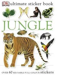 Jungle Ultimate Sticker Book by Mary Holman image