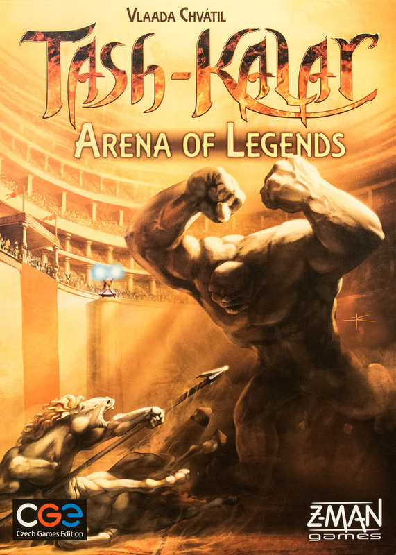 Tash Kalar: Arena of Legends - Board Game