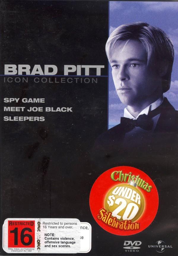 Brad Pitt Movie Collection (Spy Game / Meet Joe Black / Sleepers) (3 Disc Set) on DVD image