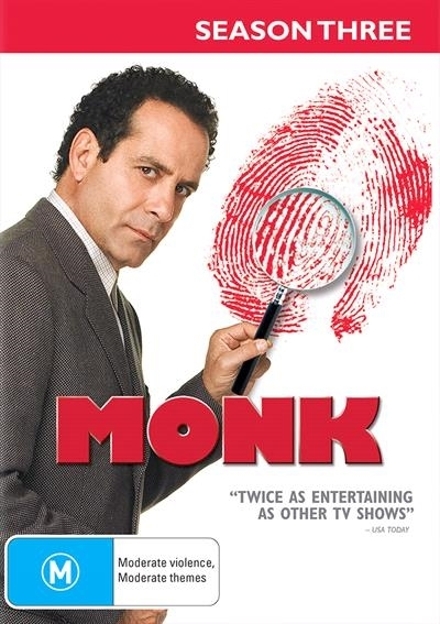 Monk - Season 3 on DVD image
