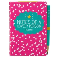 Happy Jackson Mini Notepad with Pencil - Notes Of A Lovely Person