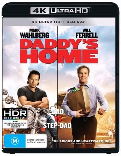 Daddy's Home on UHD Blu-ray