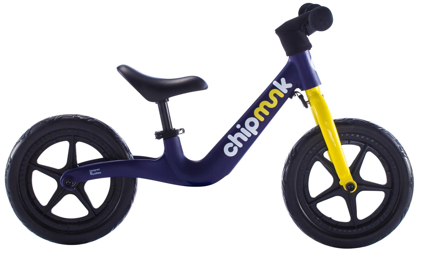 RoyalBaby: Chipmunk Balance Bike - Navy image