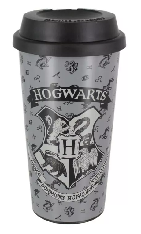 Harry Potter: Hogwarts - Plastic Travel Mug