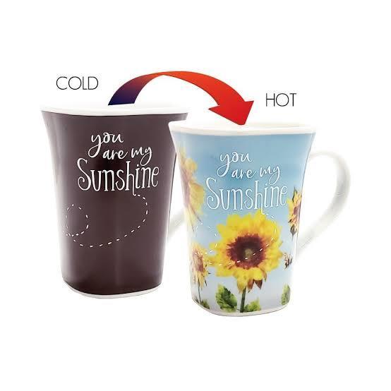 Ollee Bee: Colour Changing Story Mug - Sunshine