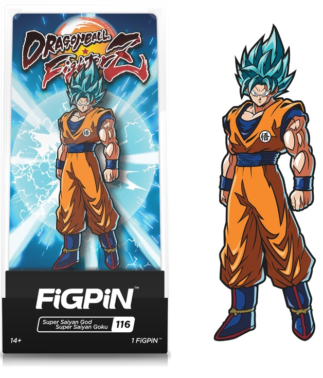 Dragon Ball FighterZ: SSGSS Goku (#116) - Collectors FIGPiN