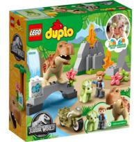 LEGO Duplo: Jurassic World - T.Rex & Triceratops Dinosaur Breakout (10939)