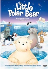 The Little Polar Bear on DVD