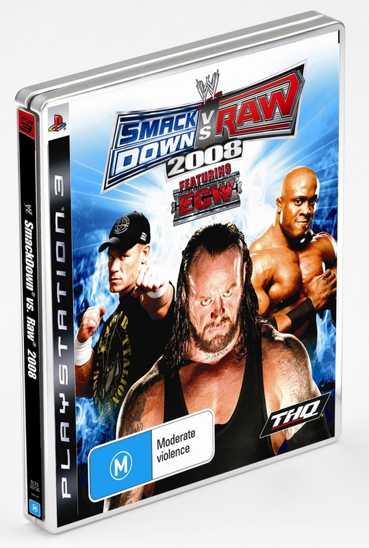 WWE Smackdown! vs. RAW 2008 Steelcase Edition for PS3