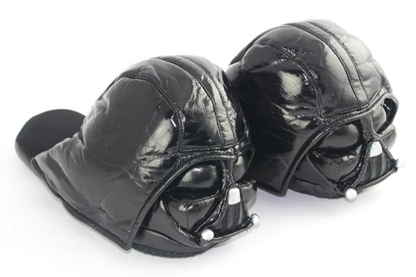 coupon code detailed images classic style Star Wars Darth Vader Slippers - Men's size 8.5 - 9.5 (Medium ...