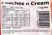 Peaches n Cream Lollies 1kg - Rainbow Confectionery image