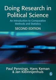 Doing Research in Political Science by Paul Pennings image