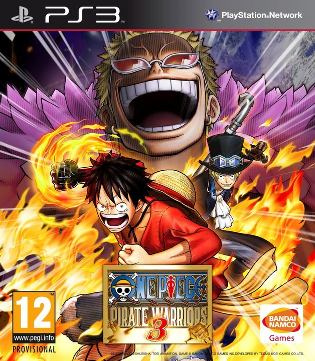 One Piece: Pirate Warriors 3 for PS3