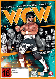 WWE - WCW Best Pay-Per-View Matches - Vol 1 on DVD