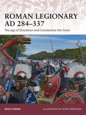 Roman Legionary AD 284-337 by Ross Cowan image