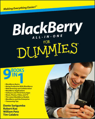BlackBerry All-in-One For Dummies by Dante Sarigumba image