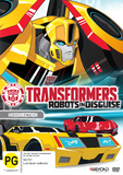 Transformers: Robots In Disguise - Misdirection on DVD
