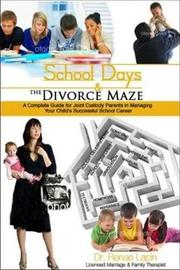 School Days and the Divorce Maze by Renae Lapin image