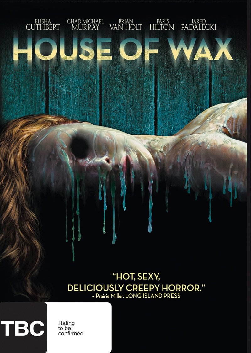 House of Wax on DVD image