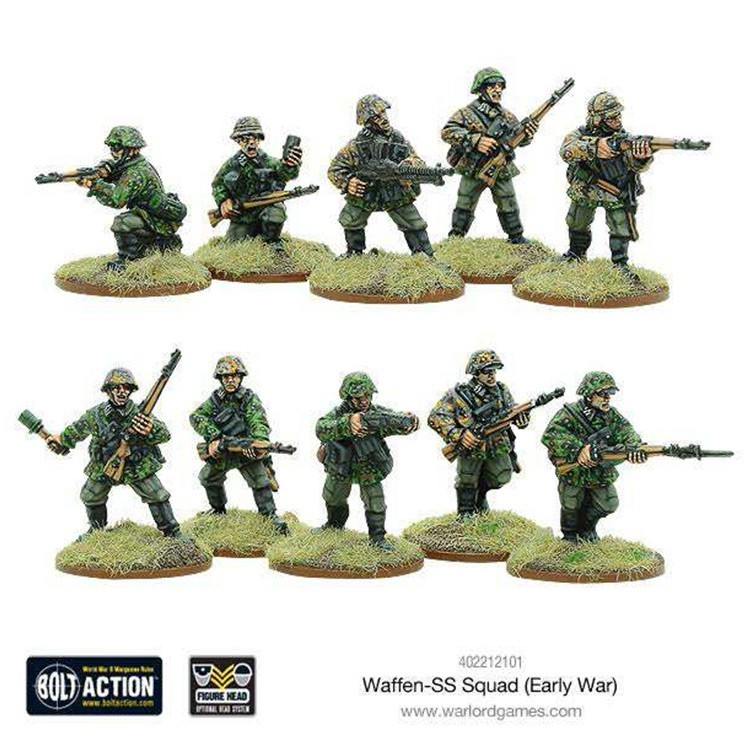 Early War Waffen-SS Squad image