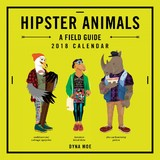 Hipster Animals 2018 Wall Calendar by Dyna Moe