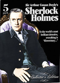 Sherlock Holmes Collectors Edition (5 Disc) on DVD image