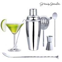 Summum Sommelier: Cocktail Set With Recipe Book (6 Pieces)