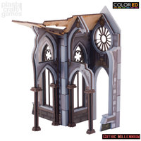 ColorED Scenery: Cathedralis side porch