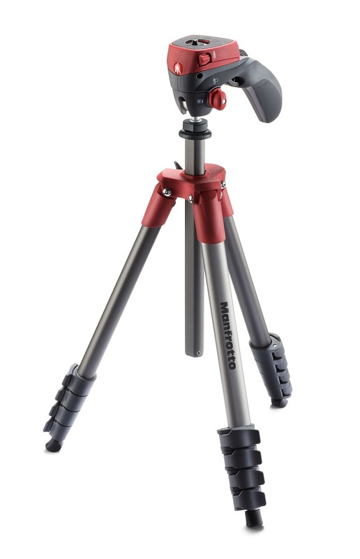 Manfrotto MF Compact Action Tripod Red